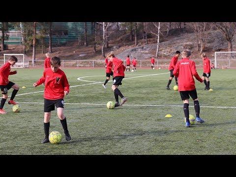 Så här tränar Brommapojkarna P06:1 inför en viktig cup - Fotboll24 besöker