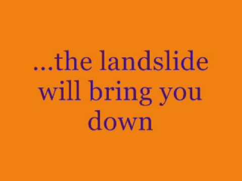 Landslide Karaoke by The Dixie Chicks