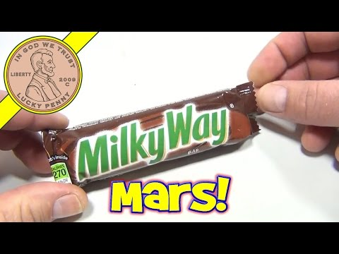 Milky Way Candy Bar - USA Candy Tasting Review