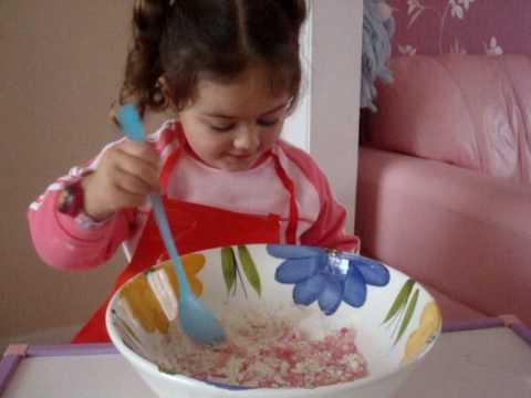 how to make orange colored play dough