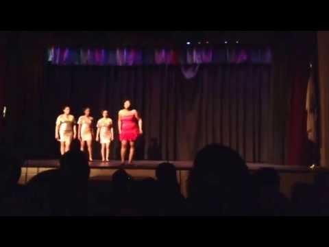 Dreamgirls finale song-Zanira Harris Rancocas Valley High