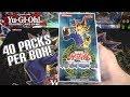Yu-Gi-Oh! Legend of Blue Eyes White Dragon Korean Unboxing | 40 Booster Packs!