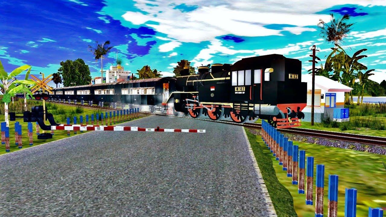 Download Kompilasi Perlintasan Kereta Api   Animasi Kereta Api   Trainz Simulator