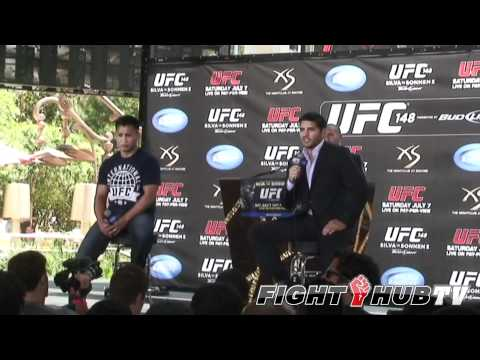 UFC 148: Cung Le vs. Patrick Cote press conference highlights