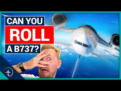 What happens if you ROLL an airliner?!