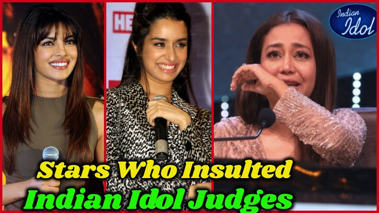 Download Bollywood Stars Who Insulted Indian Idol Judges In Public