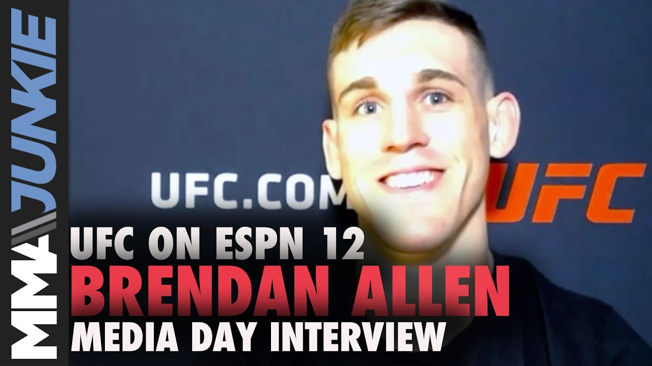 Download UFC on ESPN 12: Brendan Allen media day interview
