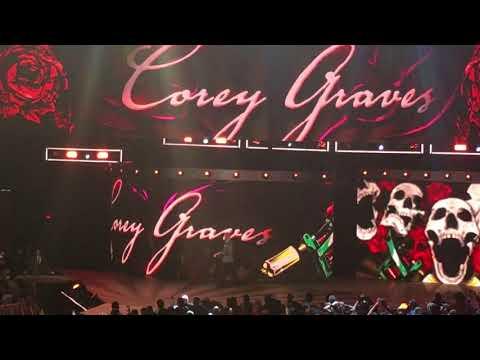 Michael Cole, Corey Graves and Jonathan Coachman Entrances (WWE Raw - 4/16/18)