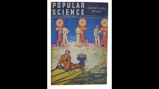 Why Humans Have Tails & Link to Sharks--Vintage Science Articles 1931 Popular Science News &Tech