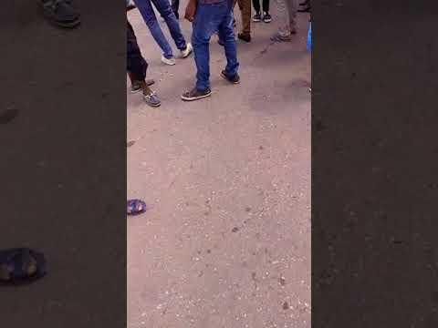 Manifestation camerounaise a yaounde avant le proces de Maurice Kamto