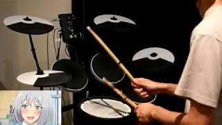 Tejina-Senpai OP -【FANTASTIC ILLUSION】by i☆Ris - Drum Cover