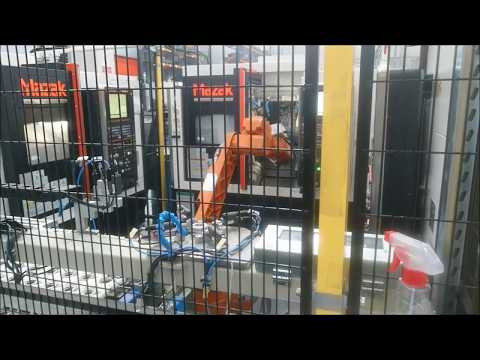 Industry 4.0 Robotic Feeding and  Measuring System
