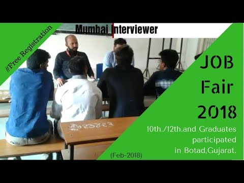 Job Fair in Botad | +20 Company | Free Participation | Feb2018
