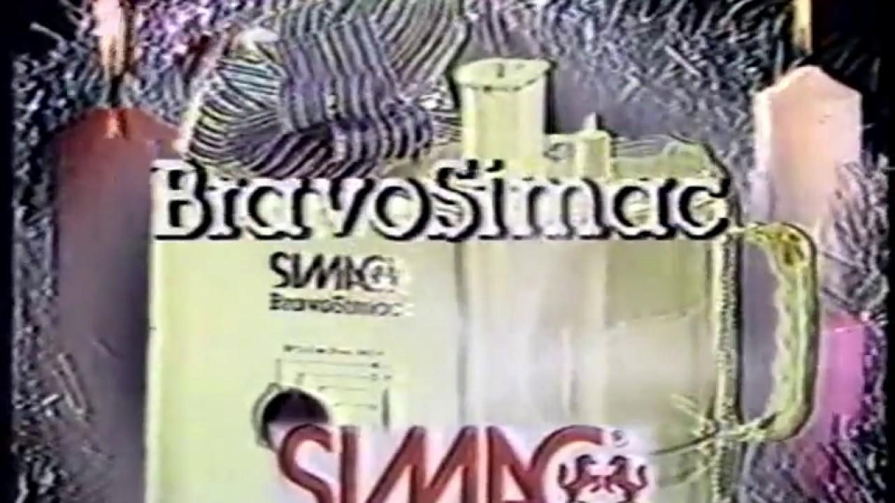 Bravo Simac 2 S Manuale.Bravo Simac 1983 La Macchina Per Cucina Piu Completa Del Mondo Youtube