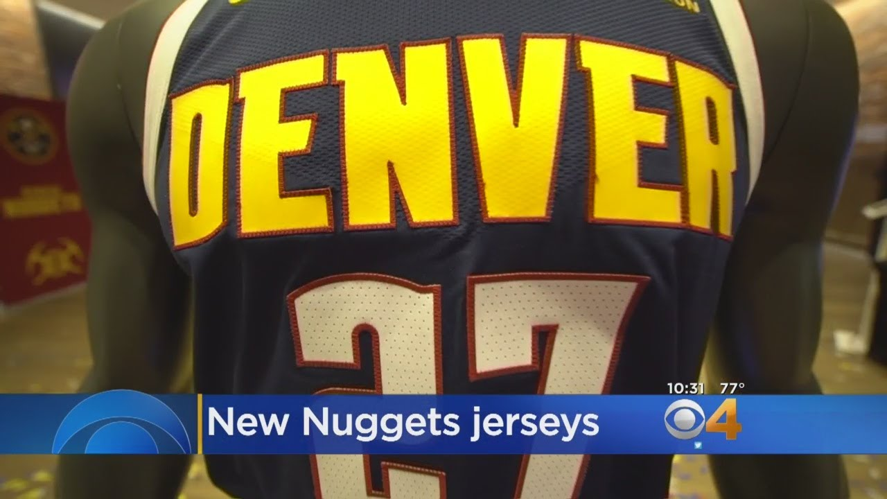 fed3edc9e05 Nuggets Reveal New Uniforms