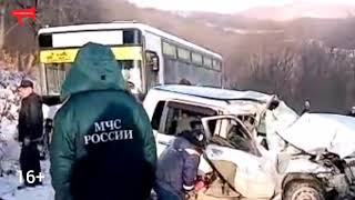 В ДТП на трассе Фокино-Дунай погибло два человека
