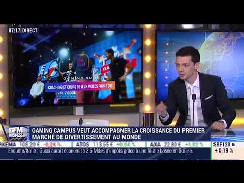 Gaming Campus chez BFM Business