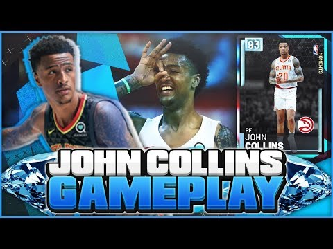 DIAMOND JOHN COLLINS GAMEPLAY! THERE IS A PROBLEM WITH THIS CARD! NBA 2K19 MYTEAM