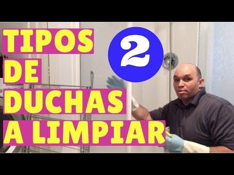 Los Tipo y Limpieza de Las DUCHAS 1 y 2 en Limpieza del hogar y Empresas de Limpieza