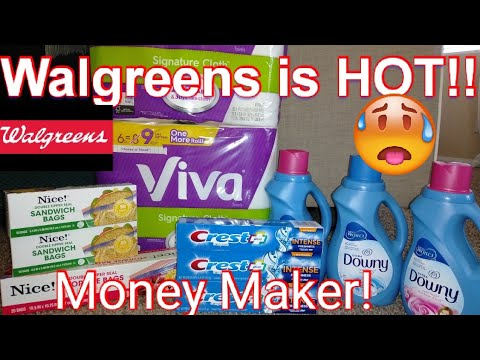 WALGREENS In-store Couponing!!! Money Makers!🔥🔥🔥 1/26-2/1