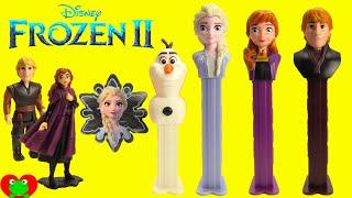 Disney Frozen 2 Pez Candy Dispensers and Surprises