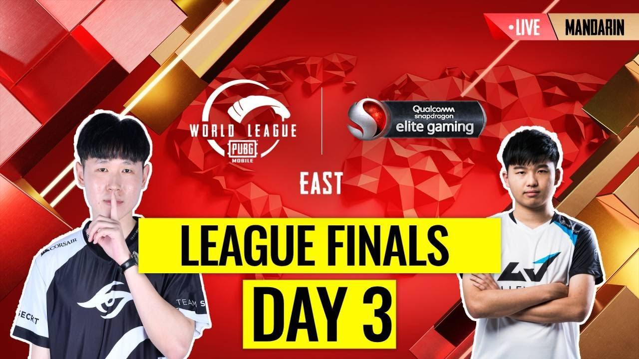 【絕地求生M】PMWL EAST League Finals 東區世界總決賽 Day 3| PUBG MOBILE World League Season Zero
