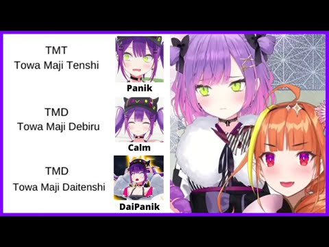 Towa who wants to be called Devil VS Viewers who want to call her Angel【Hololive/Eng sub】