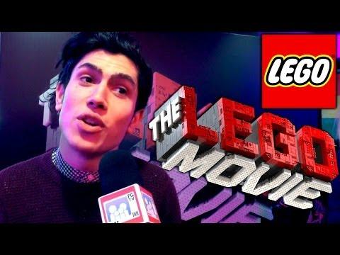 The Lego Movie Premiere -- Luke Franks Talks Xbox One, CITV &