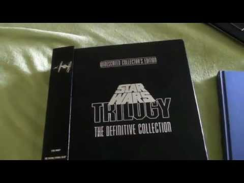 Laser Disc: Star Wars Trilogy The Definitive Collection