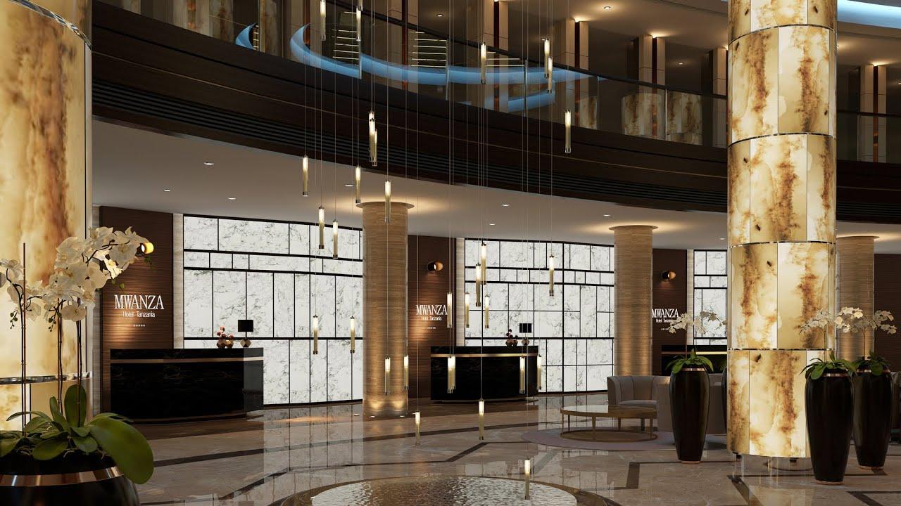 5 Star Hotel Resort Interior Design Ideas Animation By Spazio Dubai Youtube