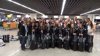 WM-Abenteuer der U 17-Juniorinnen: Anreise nach Uruguay