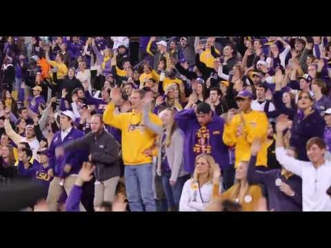 """LSU Band and Students - """"Neck"""""""