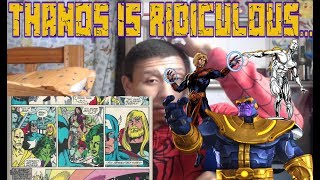 ComicsExplained The Infinity Gaunlet - Part 2 of 8 - From Bad To Worse MY RE REACTION!!!