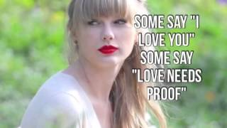 """Point of View"" Taylor Swift Unreleased Song"