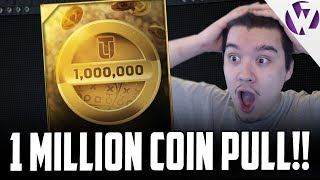 OMG 1 MILLION COIN QUICKSELL PULL!!!!!!! - MADDEN 17 BIG BOOM PACK OPENING