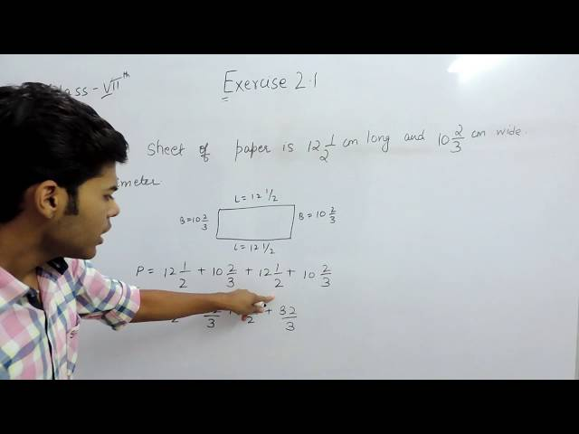 Exercise 2.1 Questions 4 - NCERT/CBSE Solutions for Class 7th Maths