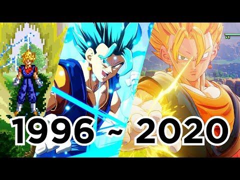 Evolution Of Vegito; 40 Games (1996 To 2020)