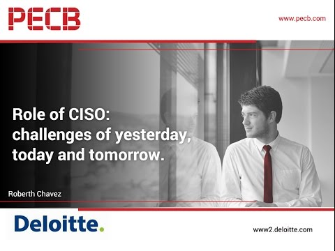 Role of CISO: challenges of yesterday, today and tomorrow