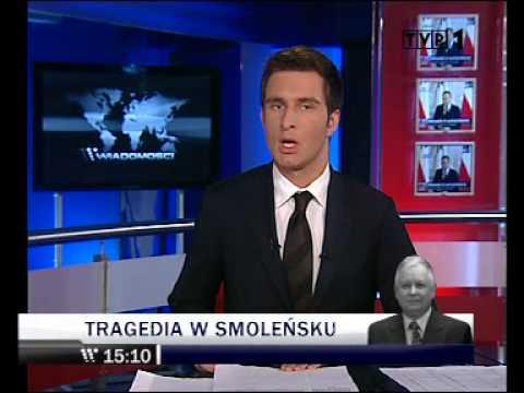 Wiadomości TVP z 10.04.2010 wydanie specjalne 15.00