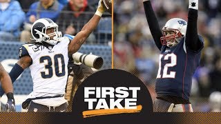 Tom Brady or Todd Gurley: Who is the NFL MVP? | First Take | ESPN