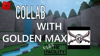 Roblox - Playing Flee The Facility (COLLAB WITH GOLDEN MAX)
