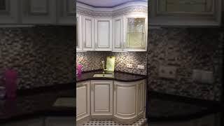 Кухня Нике Аворио. Столешница Samsung Staron.