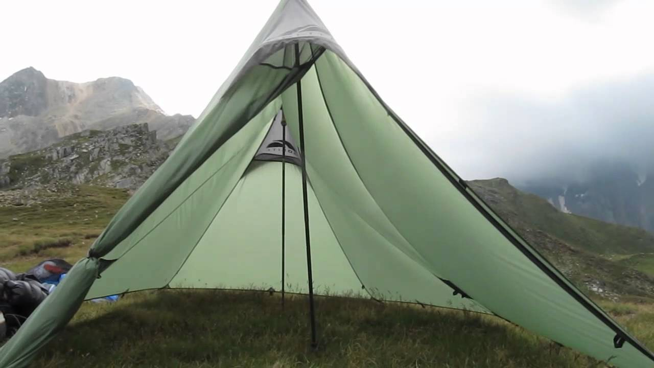 & GoLite Shangri-La 2 Shelter im Wind - YouTube
