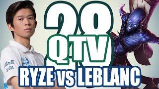 Stream QTV - Thánh né chiêu RYZE (28/11) #28