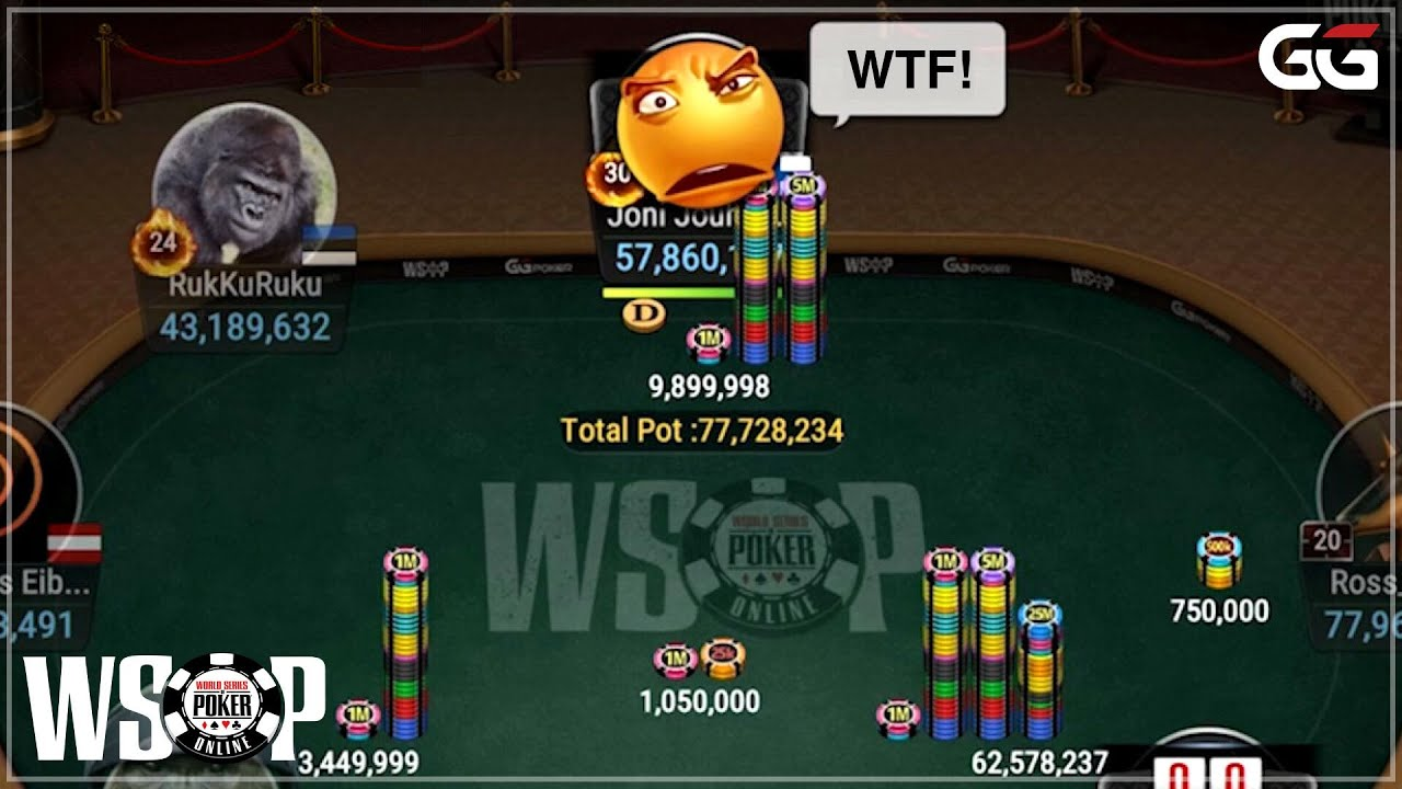 Ggpoker Wsop Bracelet Event 41 400 Colossus 3m Gtd Final Table Coverage With Jeff David Youtube