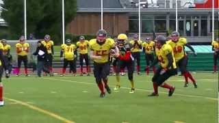 Andenne BEARS  v/s Luxembourg Steelers of Dudelange