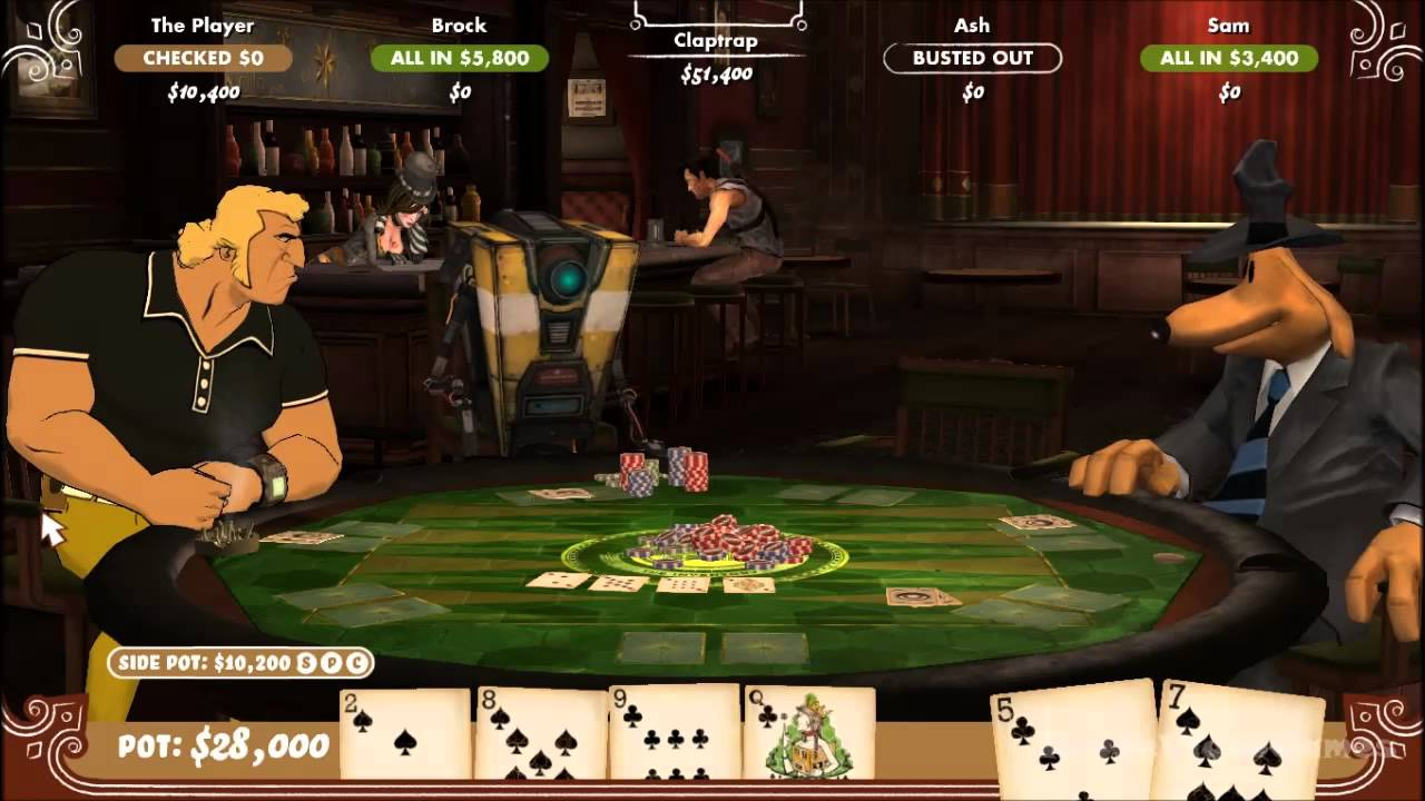 Poker Night 2 Gameplay Pc Hd Youtube