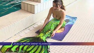 "Yvelines | Julie, la ""petite sirène"" Plaisiroise!"