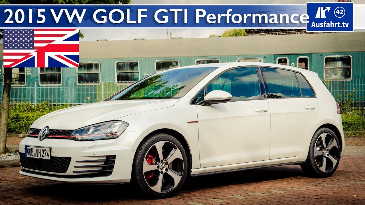 2015 volkswagen vw golf gti performance test test drive and in depth review english youtube. Black Bedroom Furniture Sets. Home Design Ideas
