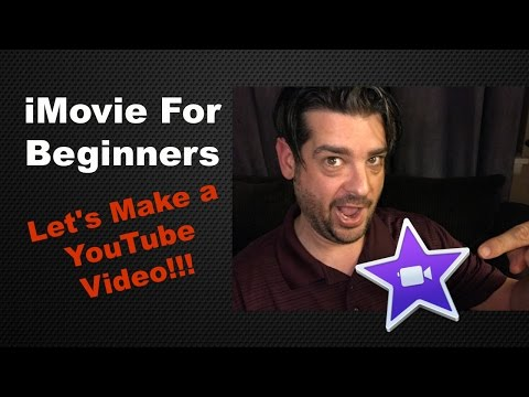 How to use iMovie : For beginners